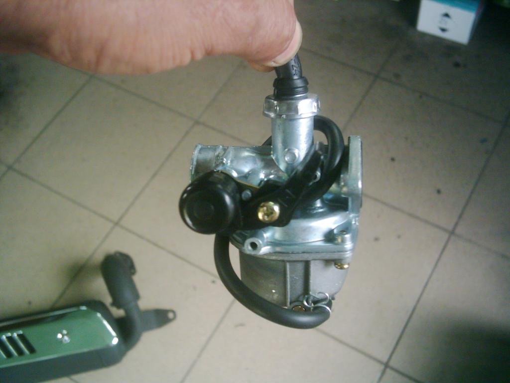 Moped, ATV, Quad fekvőhengeres 4T  110-125-ös Új karburátor.